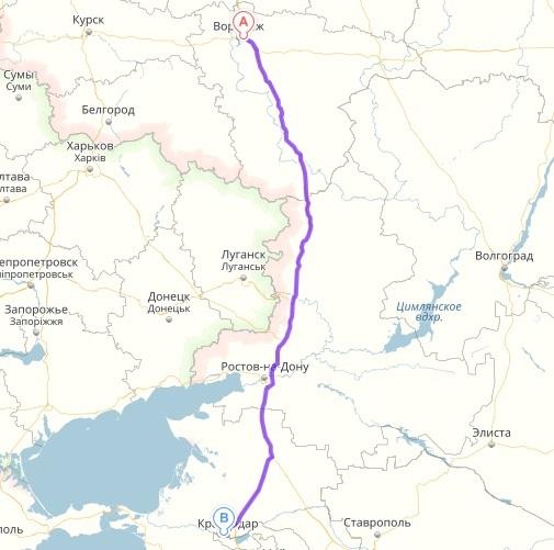 как доехать из волгограда в железногорск курская область